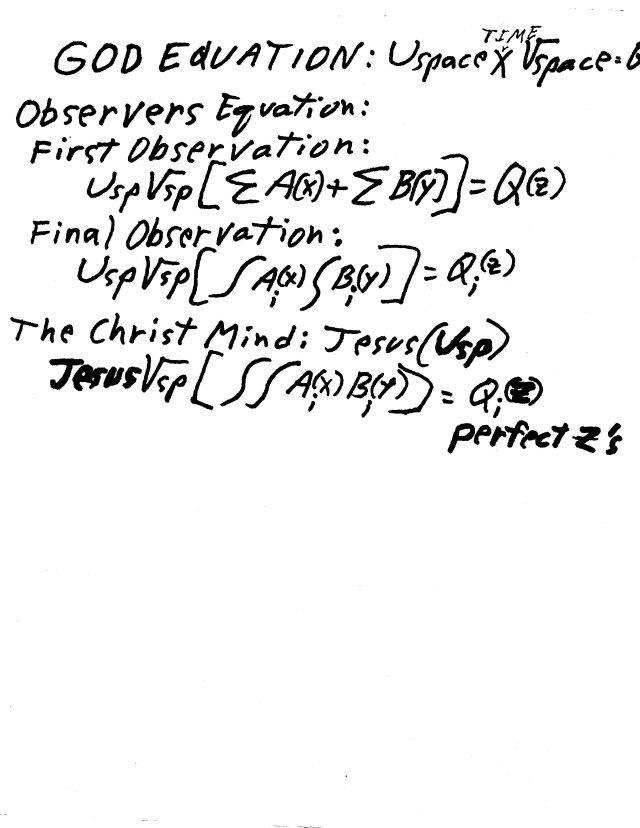 God Equations 7-17-16